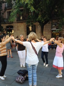 Sardana Dancers