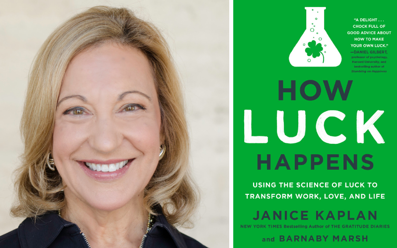 CM 104: Janice Kaplan on Making Your Own Luck